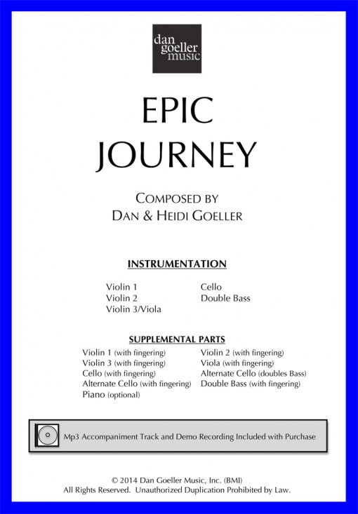 Epic Journey for String Orchestra